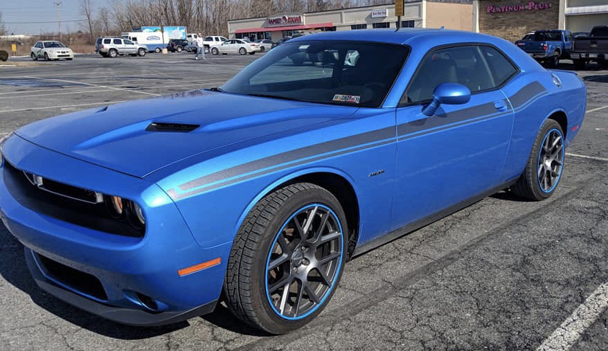 2008 - Up Dodge Challenger 2015 RT Classic Style Side Stripes