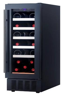 Grubel Wine Cabinet - 18 bottles - Single Temperature (GWC-ST18BK)