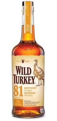 Wild Turkey '81' Bourbon Whiskey