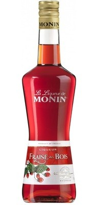 Monin Wild Strawberry Liqueur