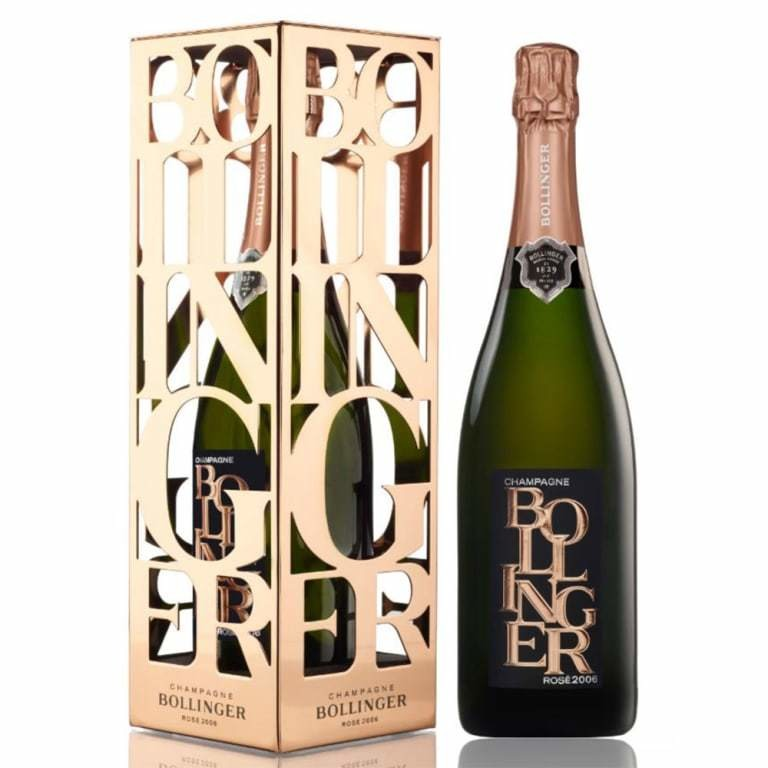 Bollinger 'Brut Rose' Champagne (limited Edition Gift Box)