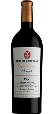 Gerard Bertrand 'Legend Vintage' Banyuls 1951