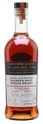 Berry Bros. & Rudd 'Classic Sherry Cask' Blended Malt Scotch