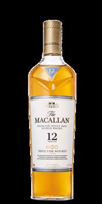 Macallan '12 Years Old Triple Cask' Single Malt Whisky