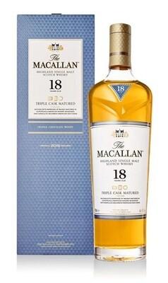 Macallan '18 Years Old Triple Cask' Single Malt Whisky