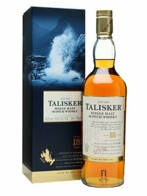 Talisker '18 Years Old' Single Malt Scotch Whisky