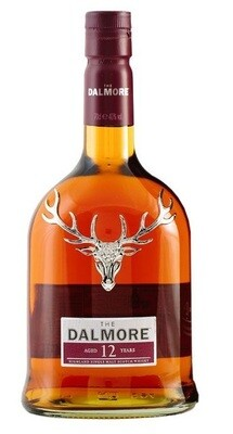 The Dalmore '12 Years Old' Highland Single Malt Whisky