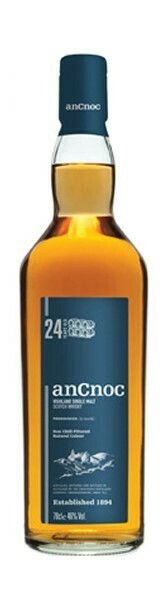 Ancnoc '24 Years Old' Highland Single Malt Scotch Whisky
