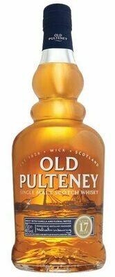 Old Pulteney '17 Years Old' Single Malt Scotch Whisky