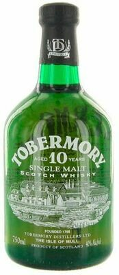Tobermory '10 Years Old' Single Malt Scotch Whisky