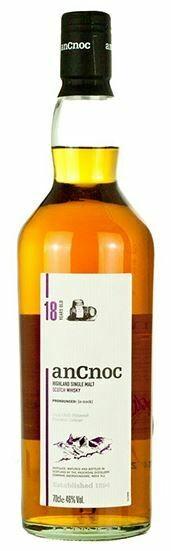Ancnoc '18 Years Old' Highland Single Malt Scotch Whisky