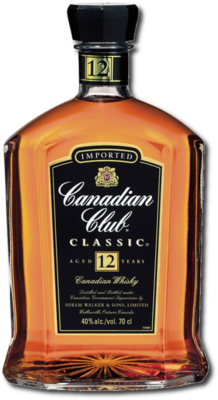 Canadian Club Classic 12 years old Whisky