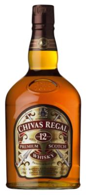 Chivas Regal '12 Years Old' Scotch Whisky (Half-Bottle - 375ml)