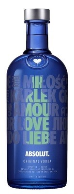 Absolut 'Blue Limited Edition' Vodka