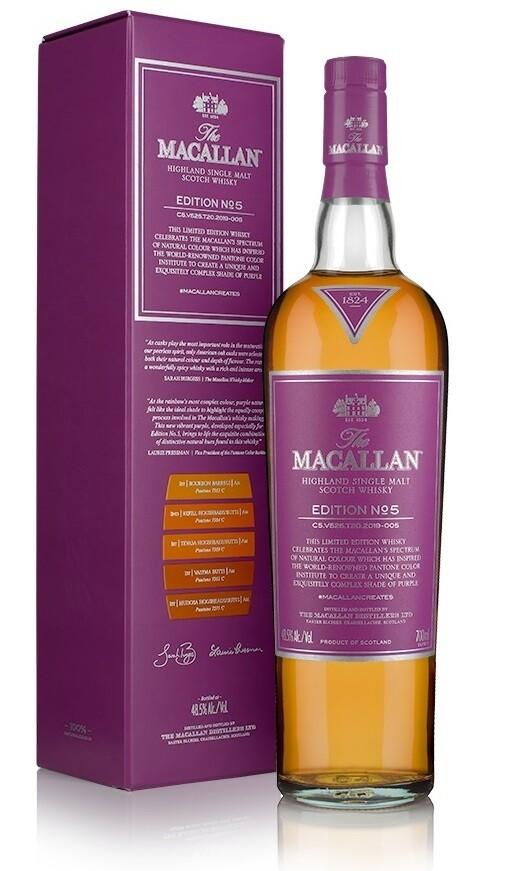 Macallan 'Edition No. 5' Single Malt Whisky