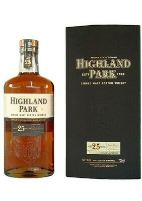 Highland Park '25 Years Old' Single Malt Scotch Whisky