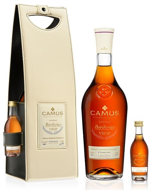 Camus 'VSOP Borderies' Cognac (With Gift Bag & Miniature)