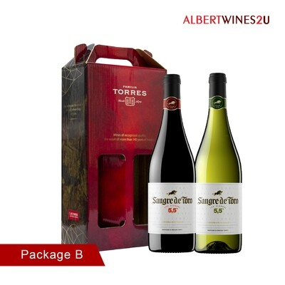 [CNY Edition] Sangre De Toro Low Alcohol Twin Pack