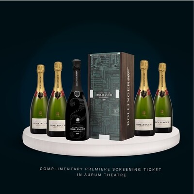 Bollinger 007 'No Time to Die'  Premiere Exclusive Package