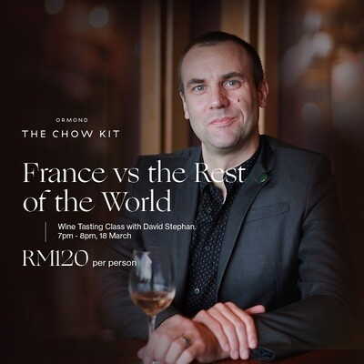 Guided Wine Tasting - France vs the rest of the World - April 2020