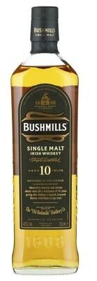 Bushmills '10 Years Old' Single Malt Irish Whiskey