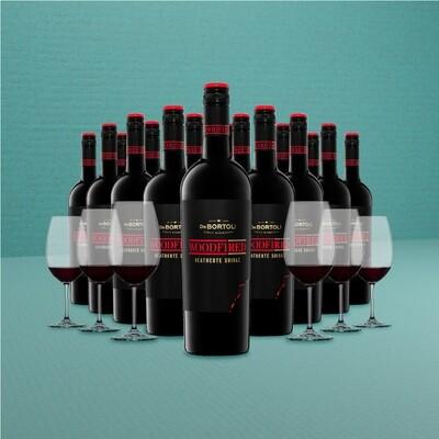 [Free Glasses] De Bortoli 'Woodfired' Heathcote Shiraz 18 Bottles Pack