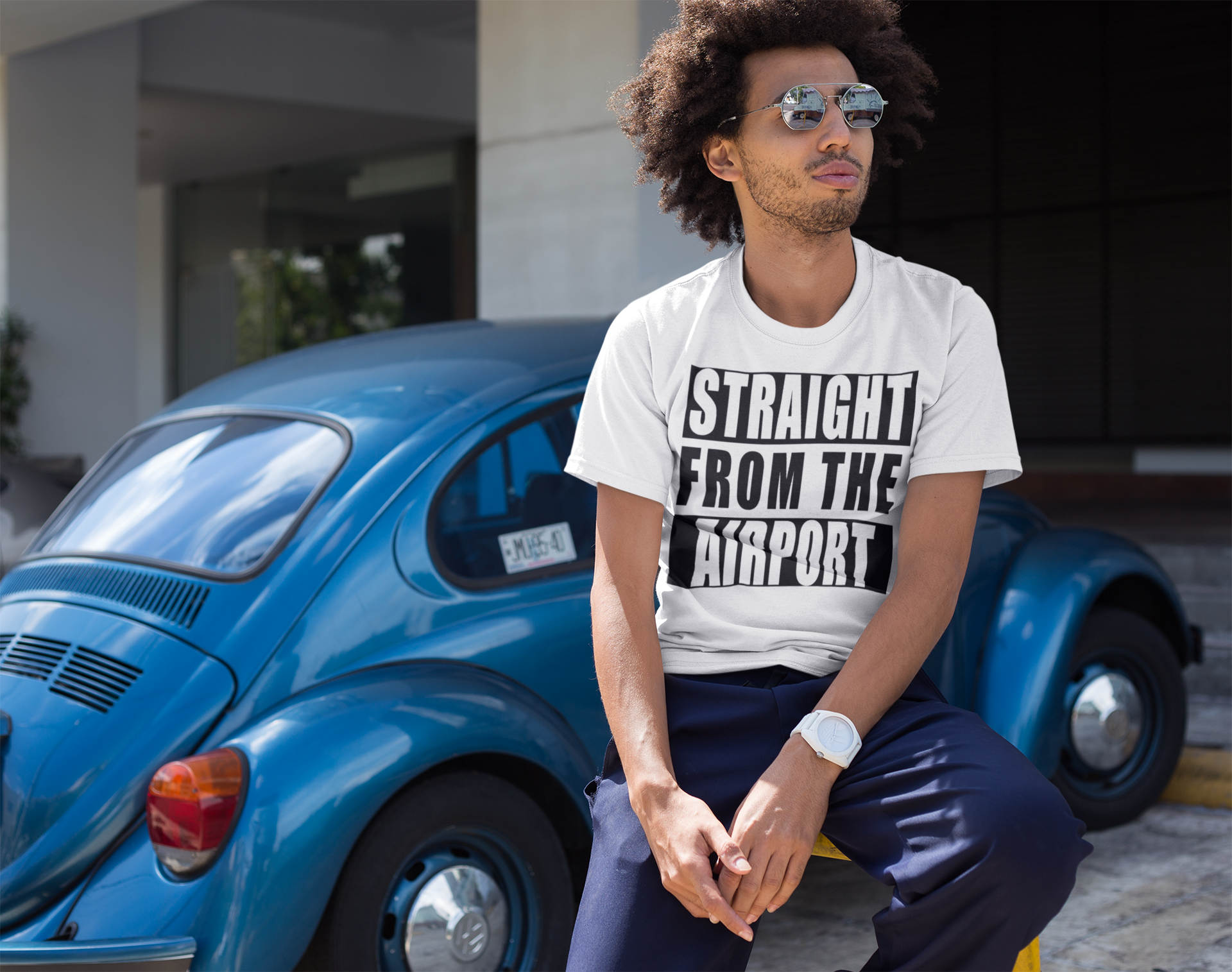 Straight From The Airport -Unisex