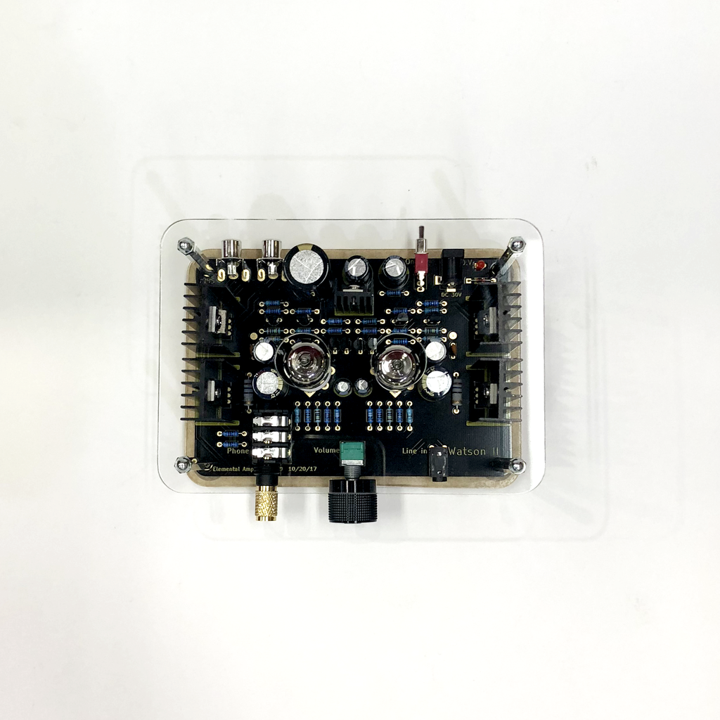 Elemental Watson II Class-A Valve/Mosfet Hybrid Headphone Amplifier