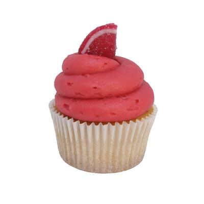 Vanilla Raspberry Cupcake