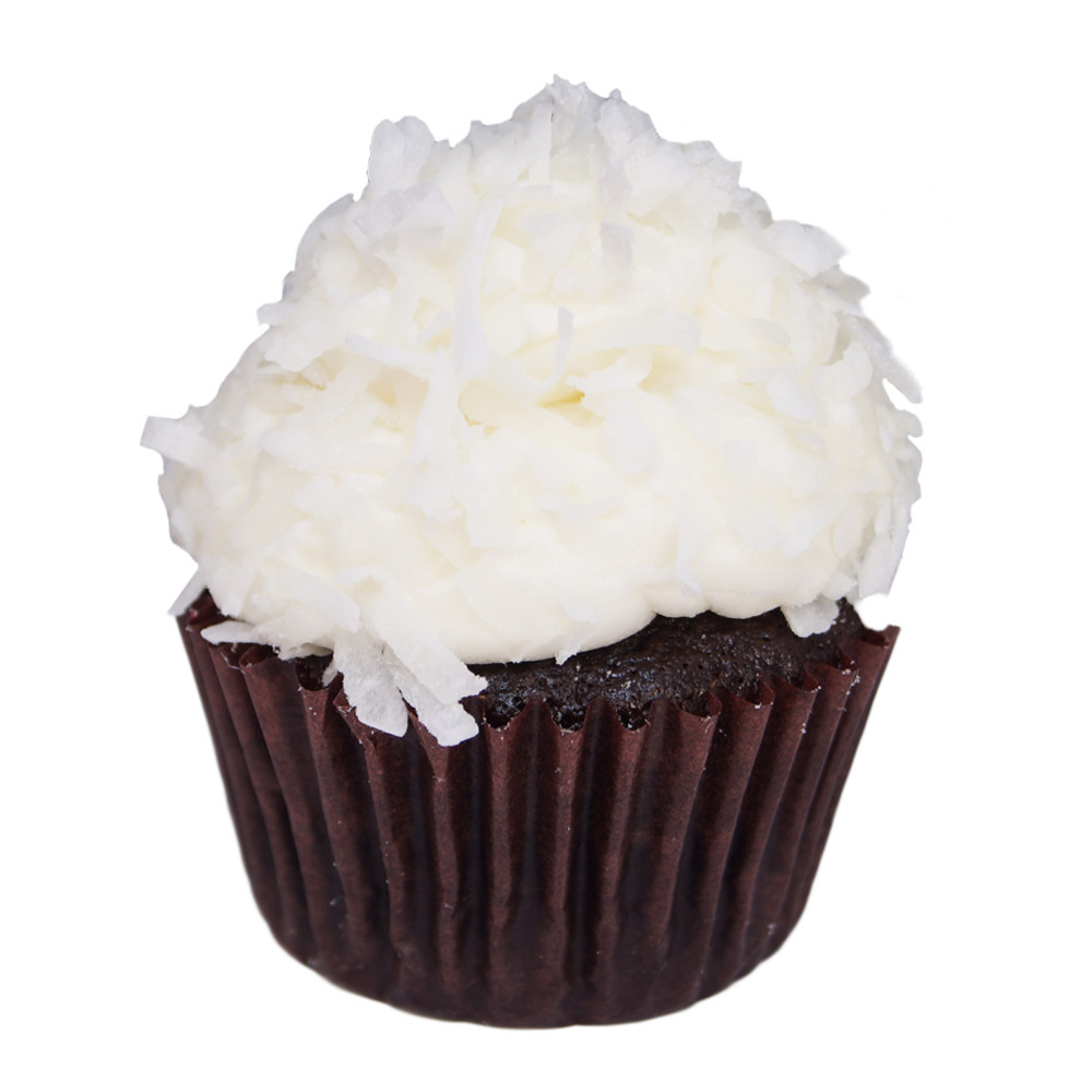 Chocolate Coconut Cupcake