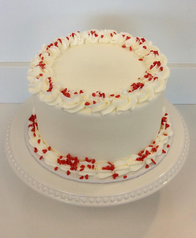 Red Velvet Buttercream Cake