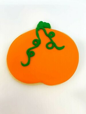 Pumpkin Royal Iced Sugar Cookie