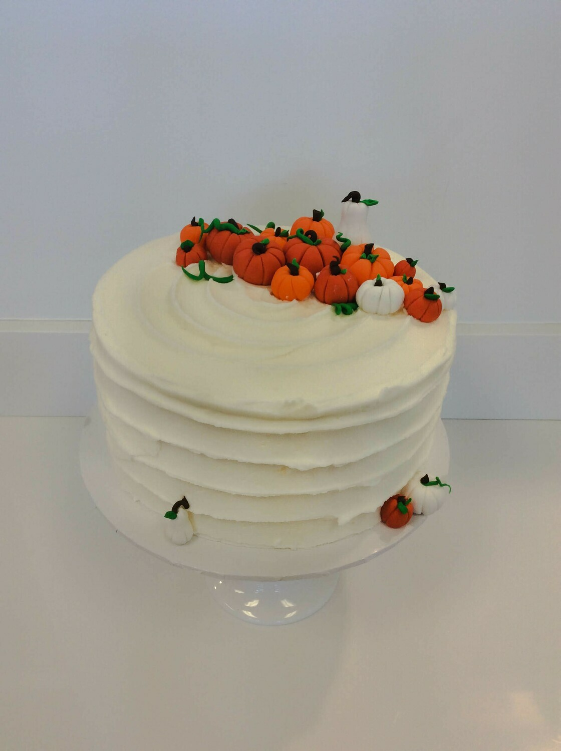 Pumpkin Patch Horizontal Ridged Cake