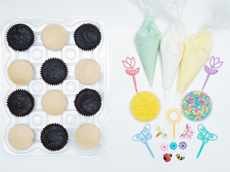 Spring Time DIY Cupcake Decorating Kit