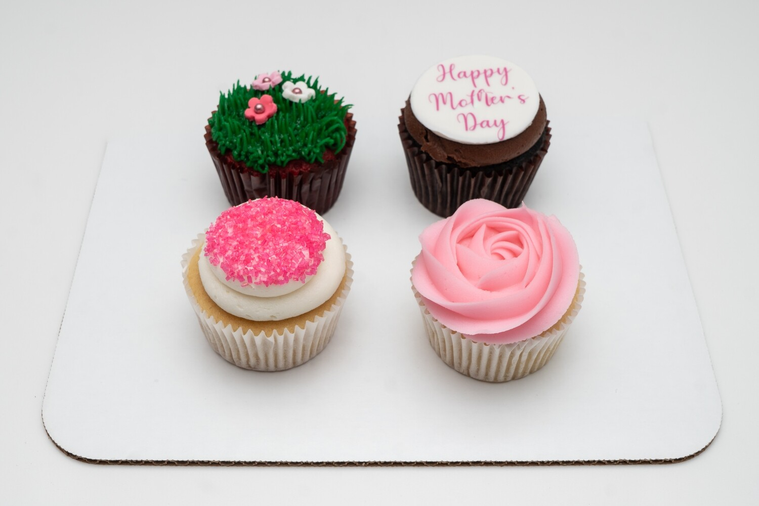Mother's Day 4 Pack of Cupcakes