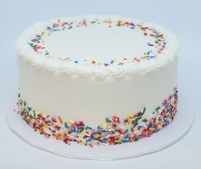 Triple Vanilla Cake