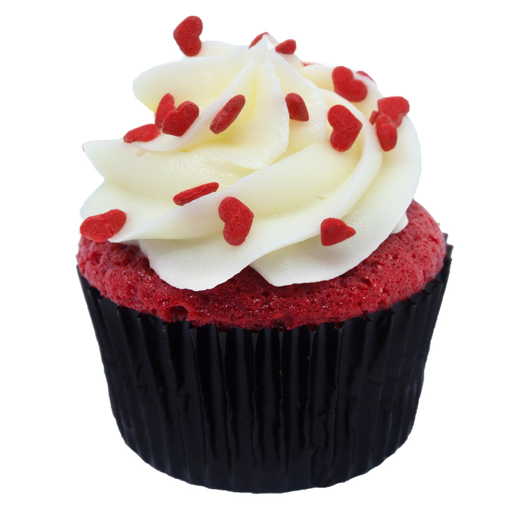 Red Velvet Cream Cheese Icing Cupcake
