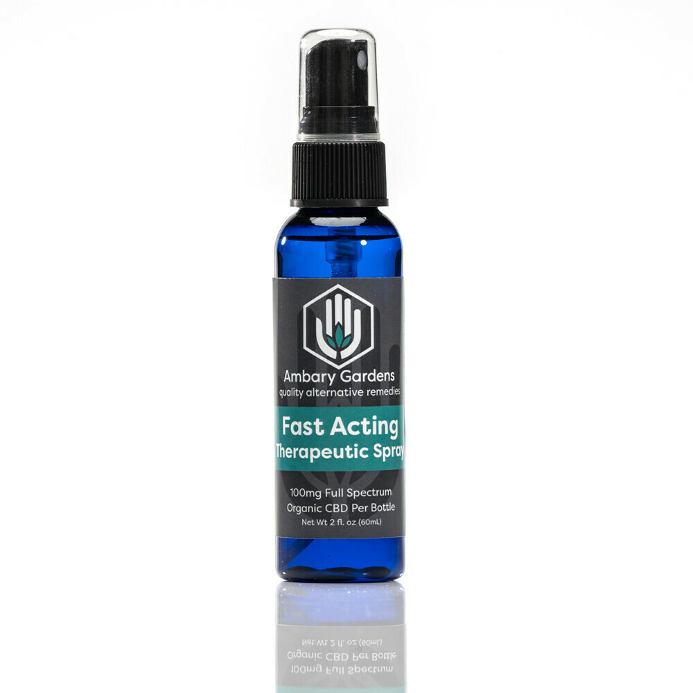 Fast-Acting Therapeutic CBD Spray