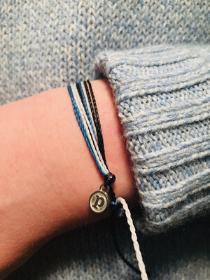 Puravida Jeepers Back The Blue Bracelet