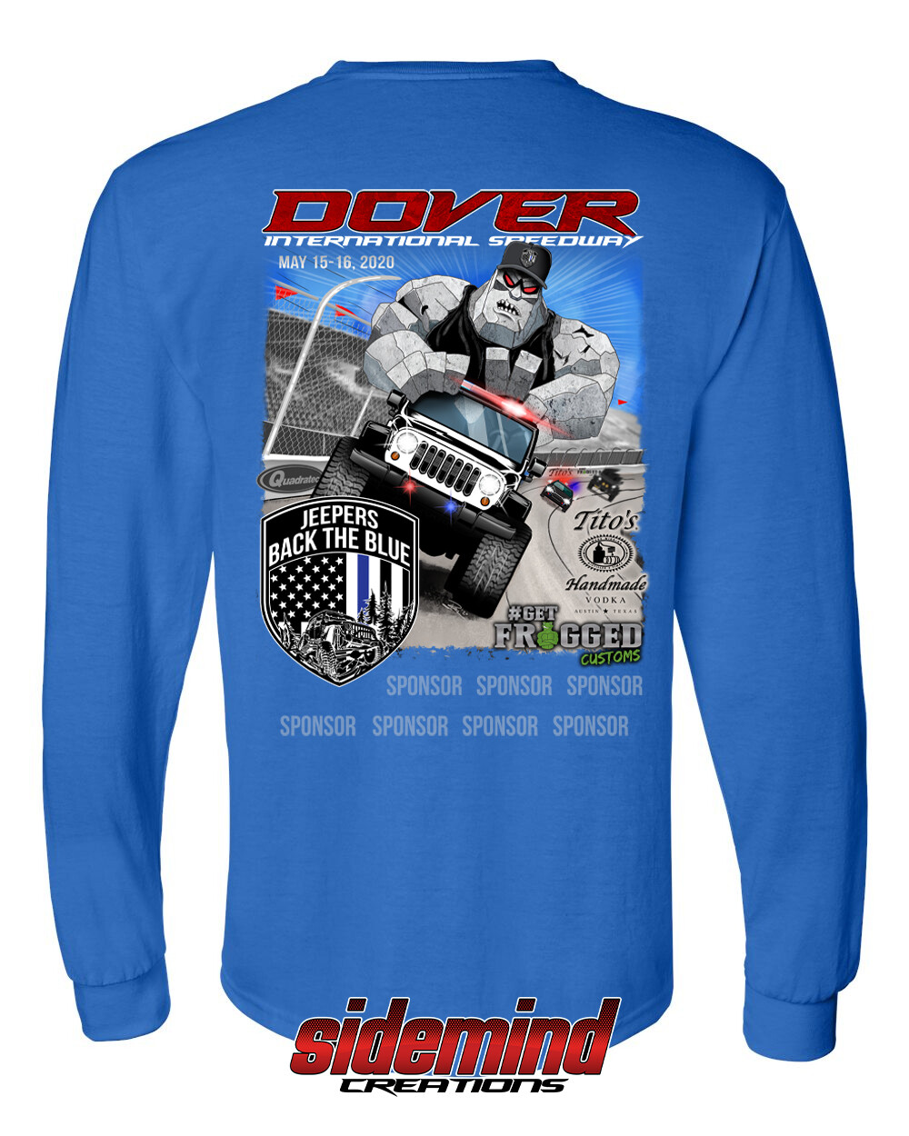 2020 Event Long Sleeve T-Shirt | Blue