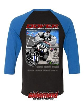 2020 Event Raglan Shirt | Blue/Black