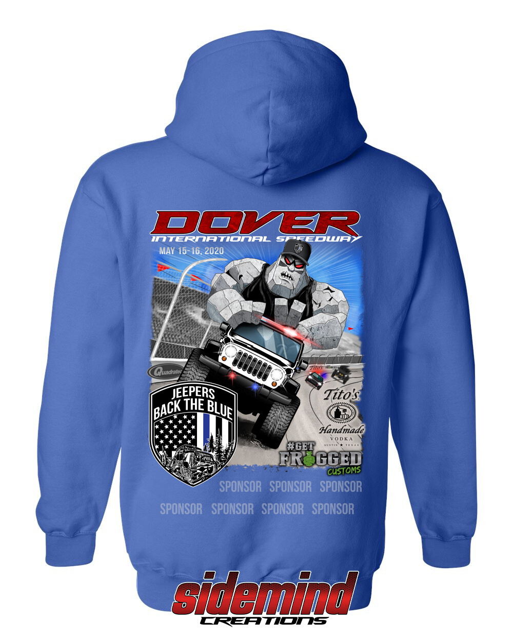 2020 Event Pullover Hoodie | Blue