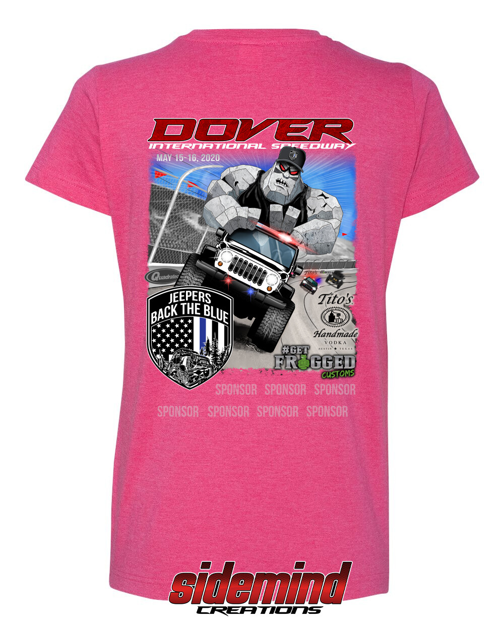 2020 Event Woman's T-Shirt   Pink