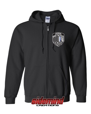 2020 Event Zip-Up Hoodie | Black