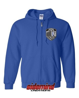 2020 Event Zip-Up Hoodie | Blue