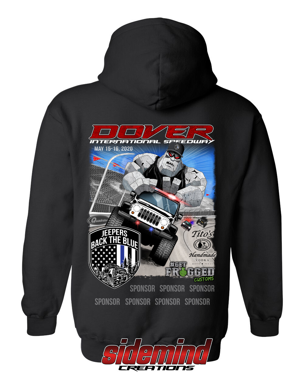 2020 Event Pullover Hoodie   Black