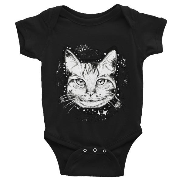 Infant Bodysuit Spacecat
