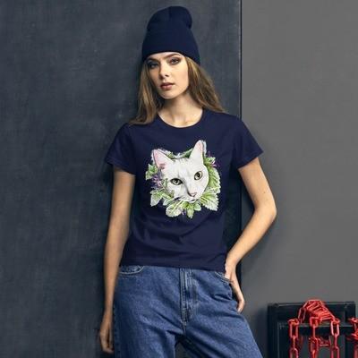 Women's short sleeve t-shirt Purr