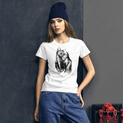 Women's short sleeve t-shirt Affection