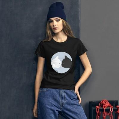 Women's short sleeve t-shirt Nosebump